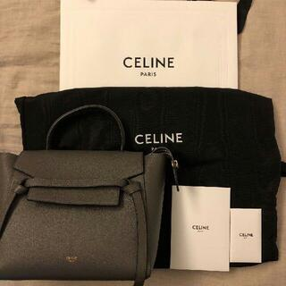 celine - CELINE ベルトバッグ マイクログレインドカーフスキン