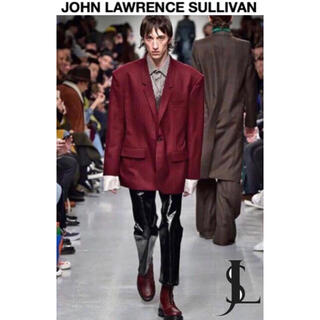 ジョンローレンスサリバン(JOHN LAWRENCE SULLIVAN)のJOHN LAWRENCE SULLIVAN  フレア パンツ パテント 黒(その他)