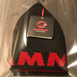 マムート(Mammut)のMAMMUT/Logo Beanie       《ユニセックス》新品未使用(ニット帽/ビーニー)