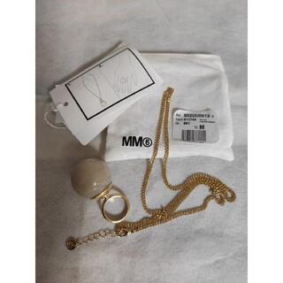 Maison Martin Margiela - ★新品★ レディース ネックレス・指輪(2way) MM6メゾンマルジェラ
