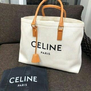 celine - セリーヌ トートバッグ ホリゾンタル ロゴプリント