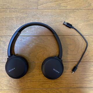 SONY - SONY WH-CH510(B) ブラック ヘッドホン ヘッドフォン