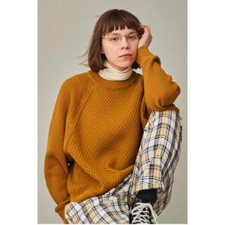 COMOLI - YASHIKI donten knit mustard