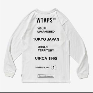 W)taps - 20SS Wtaps CIRCA L/S TEE SPOT White