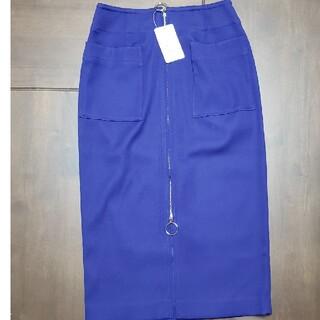 Noble - ノーブル ダブルクロス フープジップタイトスカート