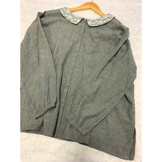 サマンサモスモス(SM2)のSM2 2way刺繍襟ブラウス(シャツ/ブラウス(長袖/七分))