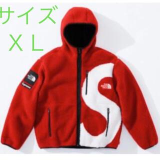 Supreme - supreme TNF S Logo Hooded Fleece Jacket