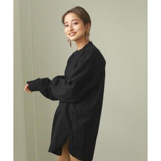 TODAYFUL - TODAYFL Tuck Dress Shirts black