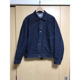 コモリ(COMOLI)のCOMOLI 20aw デニムジャケット NAVY サイズ2(Gジャン/デニムジャケット)