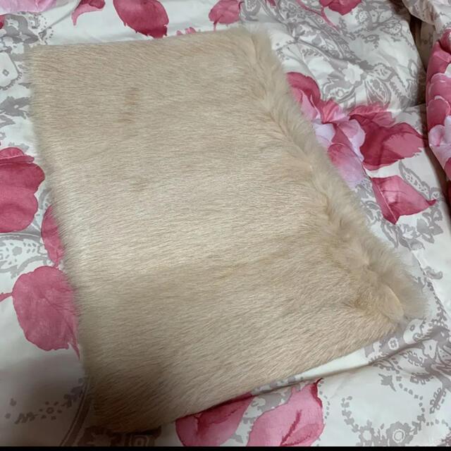 Furla(フルラ)のFURLA フルラ  美品 スヌード リアルファー レディースのファッション小物(マフラー/ショール)の商品写真