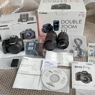 Canon - 【美品】Canon EOS Kiss x7 ダブルズームキット