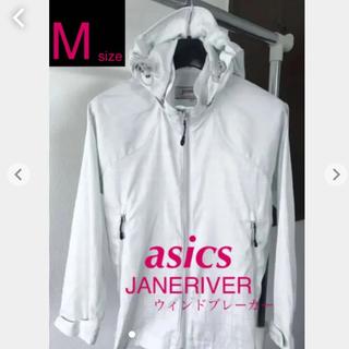 asics - JANERIVER asics レディース/女子用 パーカー ウィンドブレーカー