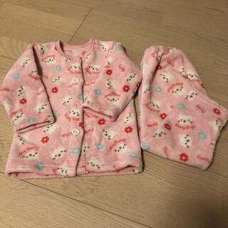 シマムラ(しまむら)のしまむら ピンク色 もこもこ あったか パジャマ 100cm(パジャマ)