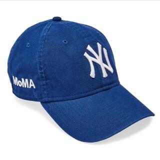 【新品】  MOMA x Yankees New Era Capブルー(キャップ)