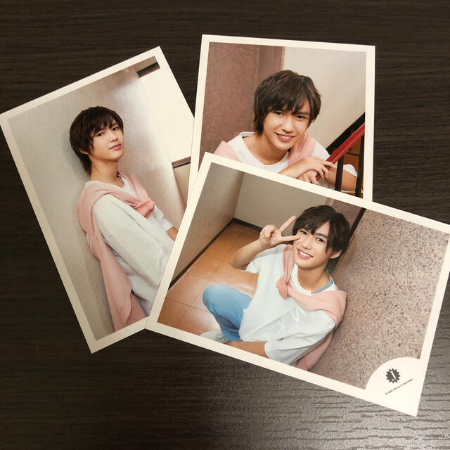 ジャニーズJr.(ジャニーズジュニア)の岡﨑彪太郎 公式写真 エンタメ/ホビーのタレントグッズ(アイドルグッズ)の商品写真