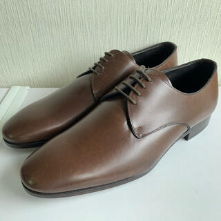 ヴァレンティノガラヴァーニ(valentino garavani)の未使用 ヴァレンチノ バレンチノ ガラバーニ プレーントゥ 外羽根 ブラウン革靴(ドレス/ビジネス)