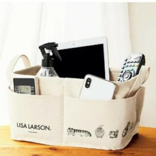 リサラーソン(Lisa Larson)のリサ・ラーソン 外ポケット付き収納ボックス(ケース/ボックス)