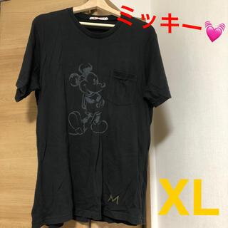 UNIQLO - UNIQLO XL レディース Disney 黒