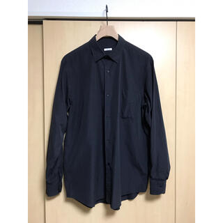 コモリ(COMOLI)のCOMOLI コモリシャツ 20ss NAVY サイズ2(シャツ)