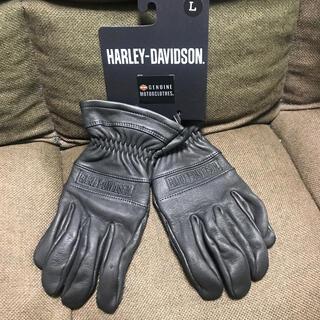 Harley Davidson - 新品未使用 ハーレーダビットソン レザーグローブ