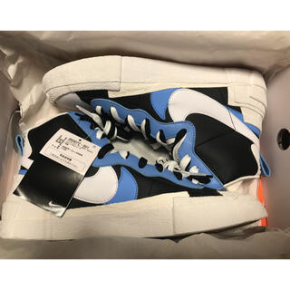 NIKE - Nike Blazer Mid sacai Black White Blue