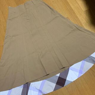 バーバリーブルーレーベル(BURBERRY BLUE LABEL)のブルーレーベルクレストブリッジ スカート 36(ロングスカート)