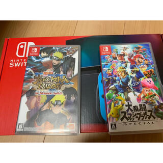 Nintendo Switch - 大乱闘スマッシュブラザーズ SPECIAL 、NARUTO