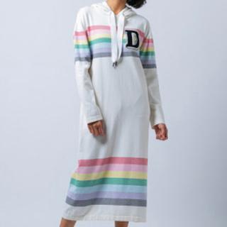 DOUBLE STANDARD CLOTHING - ダブルスタンダードクロージング ワンピース ストレッチニット新品❗️