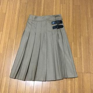 バーバリーブルーレーベル(BURBERRY BLUE LABEL)のバーバリーブルーレーベルの無地スカート(ロングスカート)