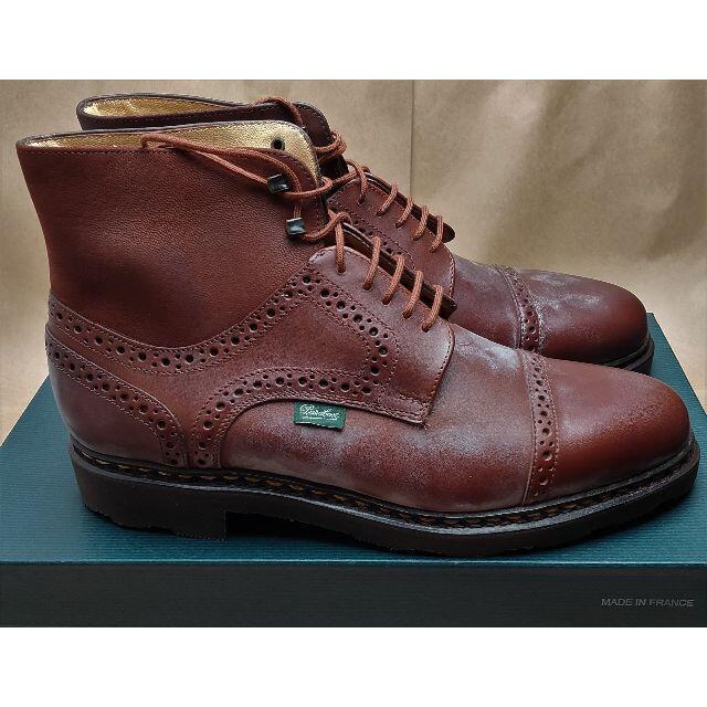 Paraboot(パラブーツ)のparaboot パラブーツ ランジハイカット UK6 24.5-25cm 新品 メンズの靴/シューズ(ブーツ)の商品写真