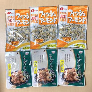 おつまみセット⑥-4【ちぎり揚げごぼう、フィッシュアーモンド】6袋(練物)
