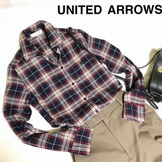 ユナイテッドアローズ(UNITED ARROWS)のUNITED ARROWS フランネルシャツ チェック(シャツ/ブラウス(長袖/七分))