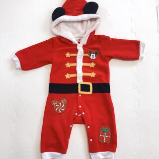 Disney - ミッキー サンタ ロンパース 80cm クリスマス