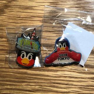 東京ヤクルトスワローズ - つば九郎 ピンバッジセット