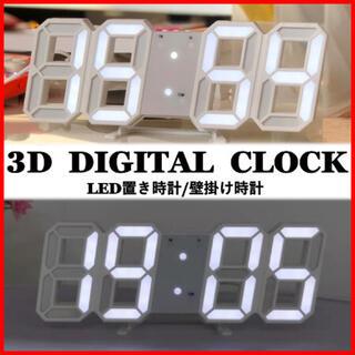 期間限定セール‼️置き時計 壁掛け時計 デジタル インテリア 雑貨 おしゃれ(置時計)