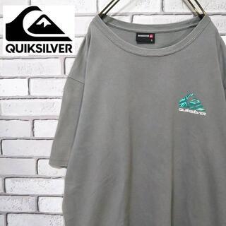 QUIKSILVER - 【激レア】QUIKSILVER クイックシルバー デカロゴ Lサイズ 90s