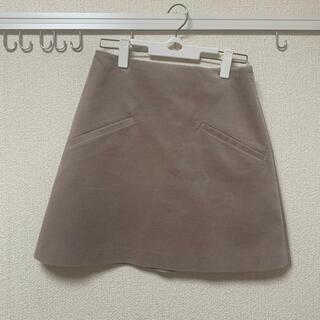 ジュエルチェンジズ(Jewel Changes)のススウェードスカート 台形スカート ミニスカート ジュエルチェンジズ(ミニスカート)