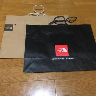 ザノースフェイス(THE NORTH FACE)のノースフェイス  ショップ袋 2枚(ショップ袋)