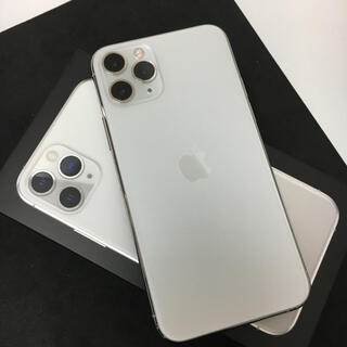 Apple - 【美品】iPhone11pro 256GB シルバー SIMフリー