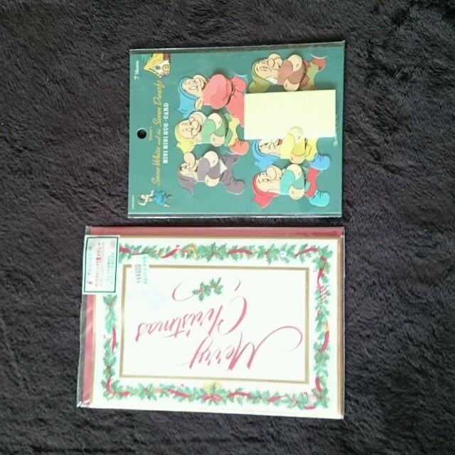 オルゴールカードとメッセージカード  インテリア/住まい/日用品の文房具(その他)の商品写真