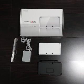 ニンテンドー3DS(ニンテンドー3DS)のNintendo 3DS 本体 アイスホワイト(携帯用ゲーム機本体)
