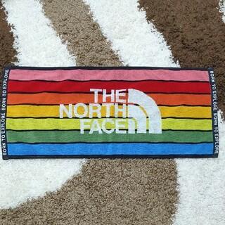 ザノースフェイス(THE NORTH FACE)のノースフェイス   新品 レインボータオル  (タオル/バス用品)