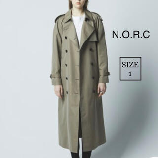 N.O.R.C by the line ノーク トレンチコート 新品同様