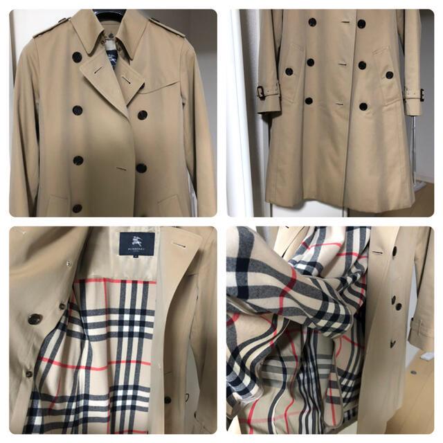 BURBERRY(バーバリー)のBURBERRY 38トレンチコート 美品 正規品 ベージュ ライナー付き レディースのジャケット/アウター(トレンチコート)の商品写真