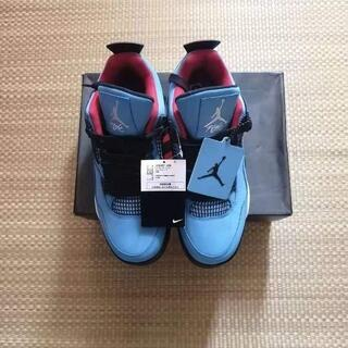 TRAVIS SCOTT × NIKE AIR JORDAN 4 29cm(スニーカー)