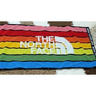 ザノースフェイス(THE NORTH FACE)のノースフェイス  新品 レインボーバスタオル (タオル/バス用品)