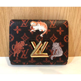LOUIS VUITTON - 【M様取置き】⭐︎正規品 ルイヴィトン  猫 ツイスト コンパクト M63889