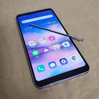 エルジーエレクトロニクス(LG Electronics)のLG Q Stylus ワイモバイル(スマートフォン本体)