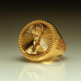 ステューシー(STUSSY)のSサイズ Stussy 40th Anniversary Ring Gold(リング(指輪))