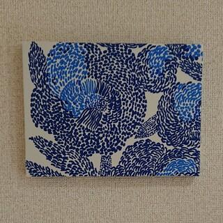 marimekko - ファブリックパネル マリメッコ青柄